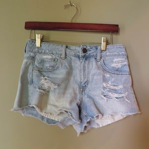 Pants - Distressed/Ripped Jean Shorts Size 4